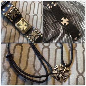 🖤🕸 Leather Rock Accessories Bundle 🕸🖤
